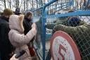 Галерея: <i>Акція протесту трудового колективу Хорольського молококонсервного комбінату дитячих продуктів 15.03.2016р.</i>