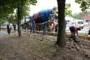 Галерея: <i>Реконструкція огорожі міського скверу</i>