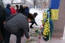 Галерея: Покладання квітів до Дня Соборності 22.01.2016р.